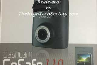 PapaGo GoSafe 110 Dash Cam Review