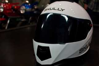 The Skully: Augmented Reality Motorcycle Helmet Makes Driving Safer