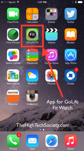 golife fit ios app icon