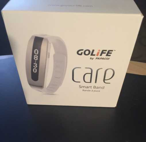 golife smart band watch in box