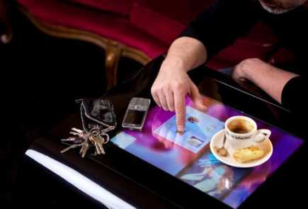 touchscreen table future