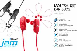 Review: JAM Transit Mini Wireless Earbuds (Bluetooth)