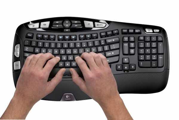logitech wireless wave keyboard comfort