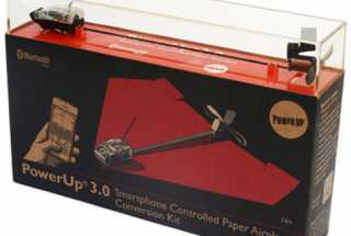 Power Up 3.0 – A Smart Paper Airplane that Teaches STEM