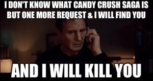 candy crush memes neeson