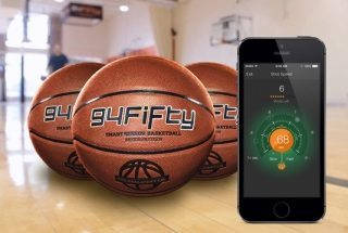 The 94Fifty Smart BasketBall Tracks Your Shots So You Don't Have To