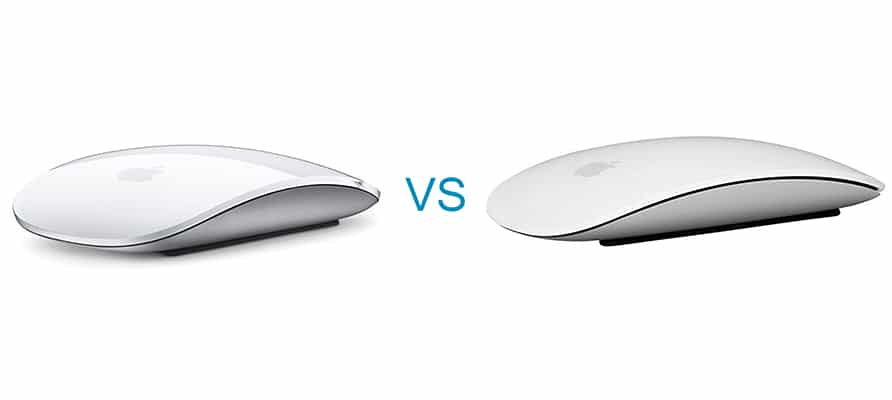 Apple Magic Mouse 2 vs 1