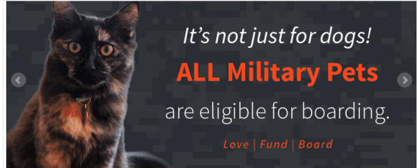 military dogs and pets