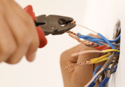 electrical work wires