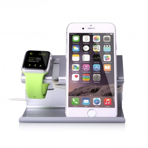 plastic apple watch stand