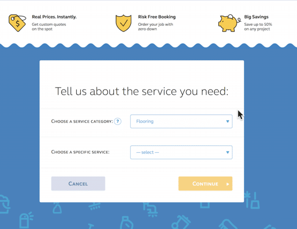 servicewhale choosing services