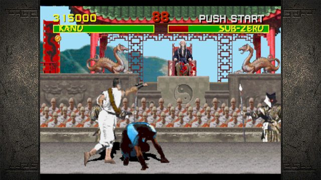 Mortal Kombat Arcade Game