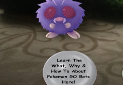 capturing a venonat pokemon go bots