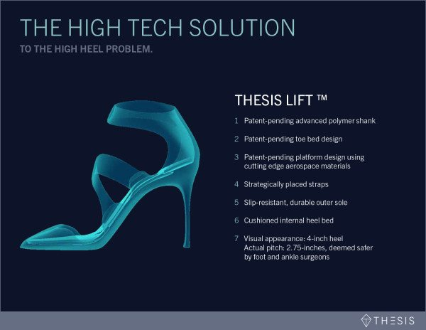 4524609139a3 Sing says she told her team to not think of their design of just creating a  new high heel