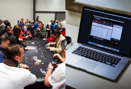 online poker transition from real world poker