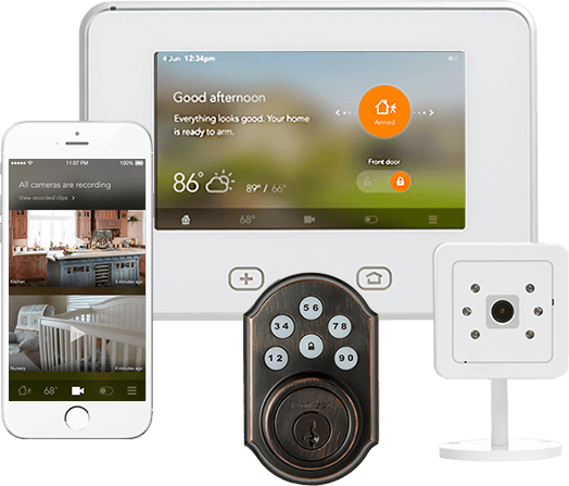 VIVINT sky hub smart home automation