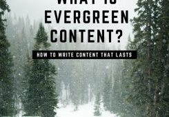 blogging, how to blog, evergreen content