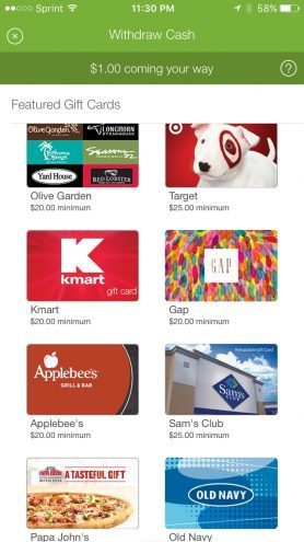 ibotta app giftcards