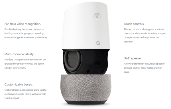 Some highlights from the new Google Home device