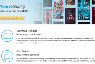 Prime Reading Comes To Amazon Prime Members: What The Heck Is This?