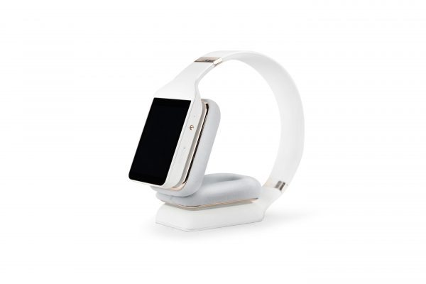 Vinci smart headphones in white