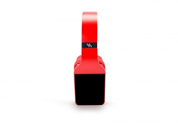 Vinci headphones in red
