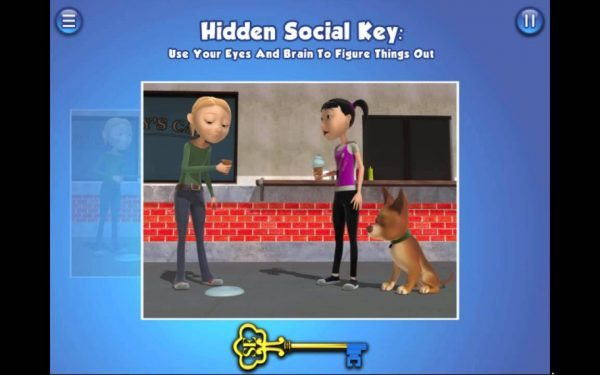 the Social express II app for kids with autism