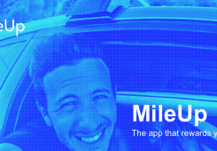 MileUp-App-Driving-Rewards feature