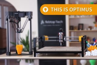 This Modular 3D Printer Handles 3D Print, CNC, and Laser Cutting