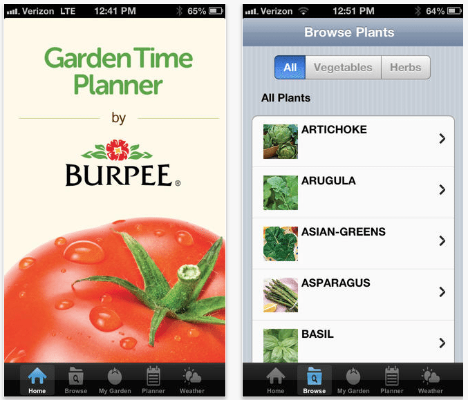 Top 5 apps for gardening the high tech society for Garden planner app