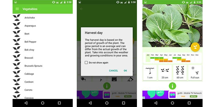 gardroid is a great gardening app with a design this gardening app is best suited for anyone looking to grow his or her own fruits and - Best Gardening Apps
