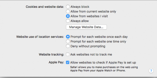How to disable cookies, disable third-party cookies, disable cookies, privacy settings Safari, privacy settings cookies