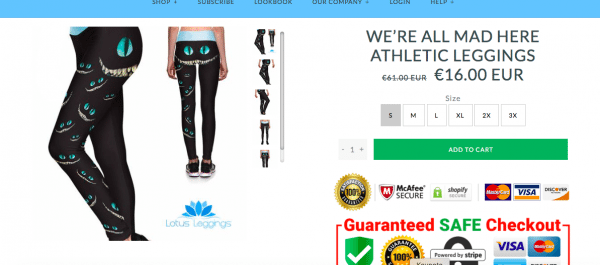 Lotus Leggings Review, Is lotus leggings legit, lotus leggings scam, lotus leggings quality