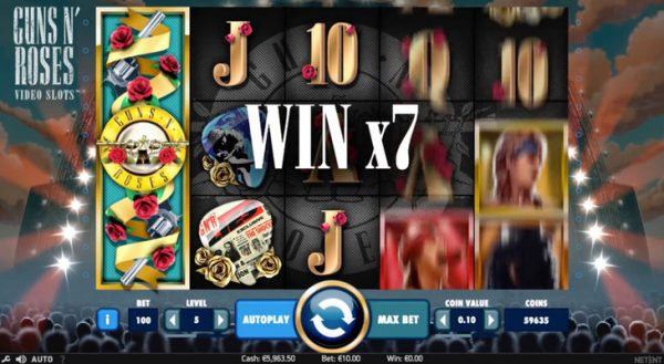 guns and roses slot game online