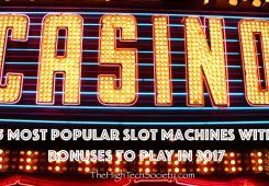 online slot games on casino