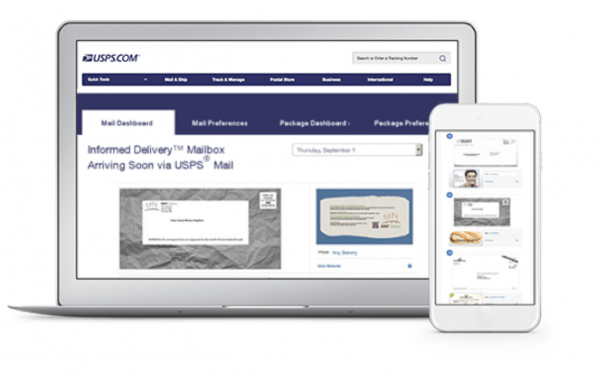 signup for usps informed delivery