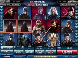 xmen online slot game