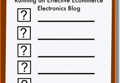 checklist for ecommerce blog