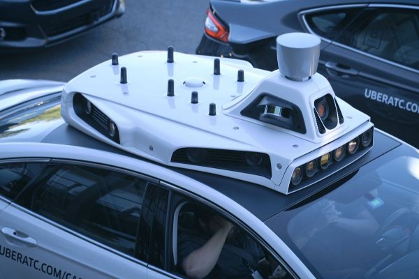 uber self driving car AI