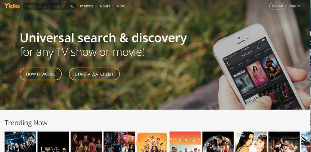 yidios free streaming movies and tv shows