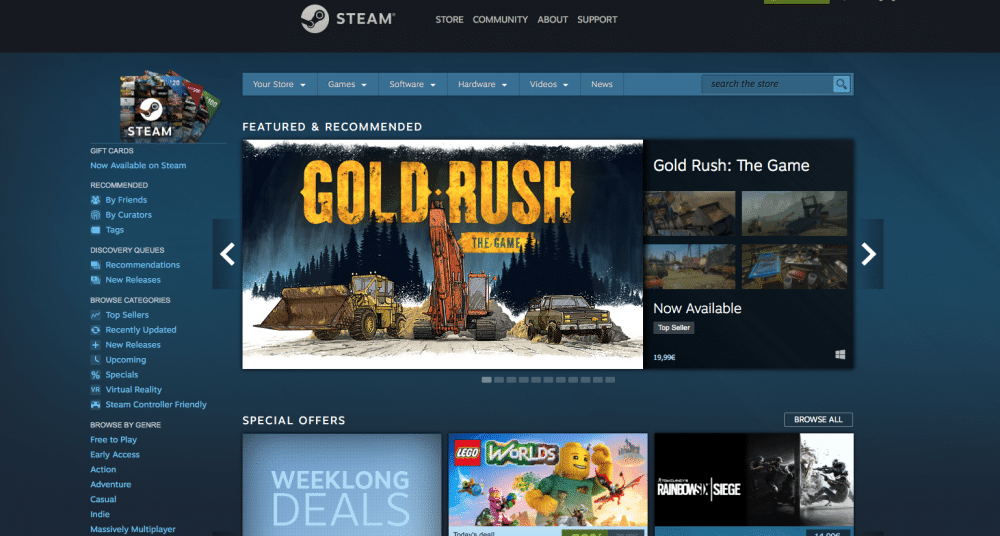 How To Get 99 Cent Games On Steam