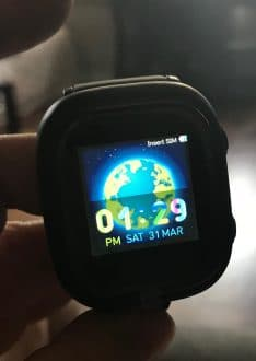 image of watch on ticktalk