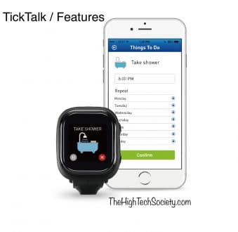 ticktalk features