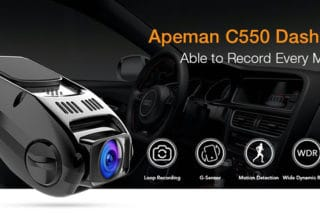 Apeman C550 Dash Camera Review