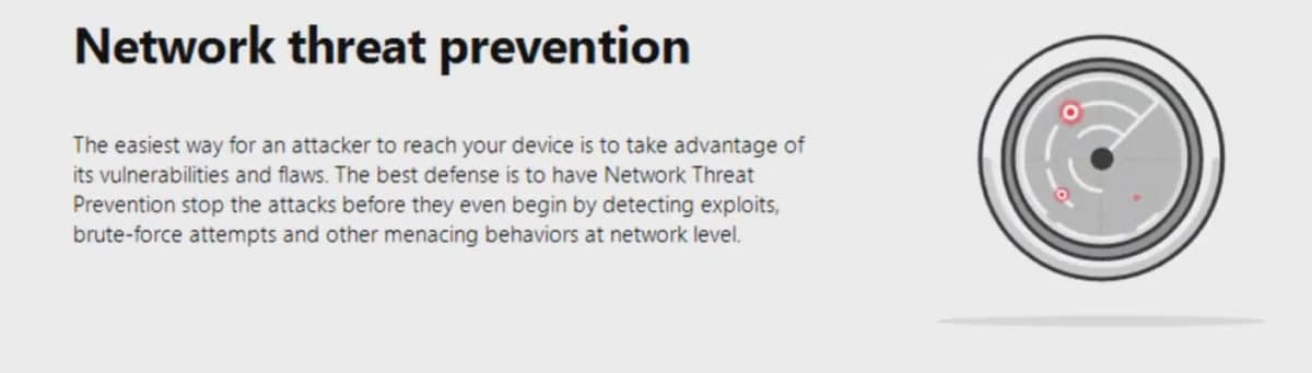 Bitdefender network protection