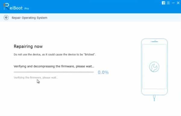 Repairing iOS