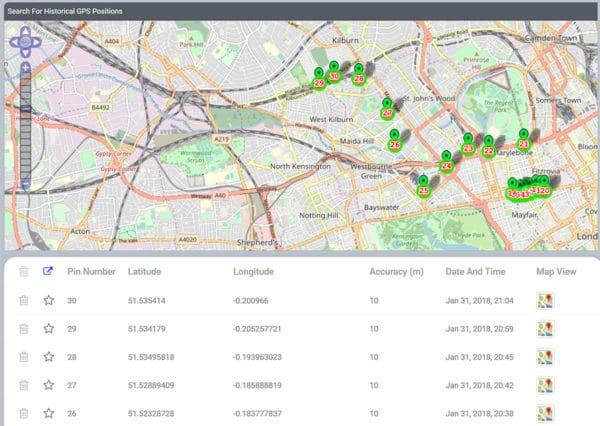 FlexiSPY GPS tracking