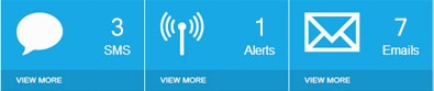 Spyera text and SMS monitoring screenshot