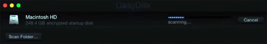 DaisyDisk integration