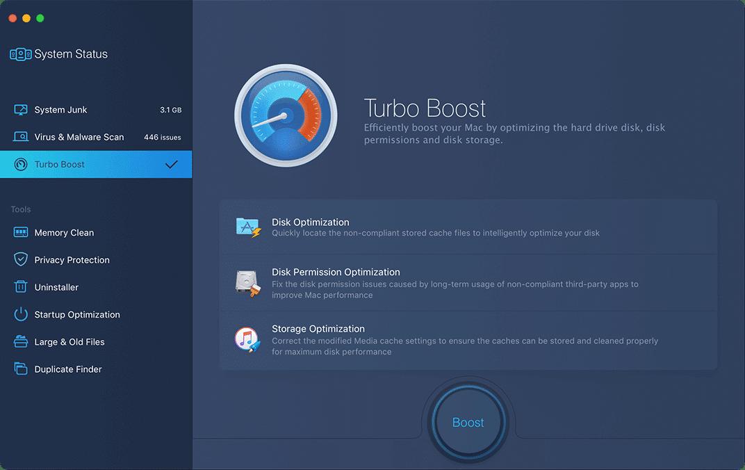 MacBooster Turbo Boost